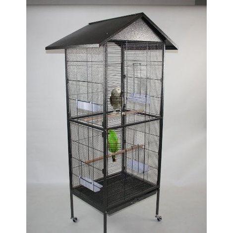 Bird cage small, bird aviary 168 cm