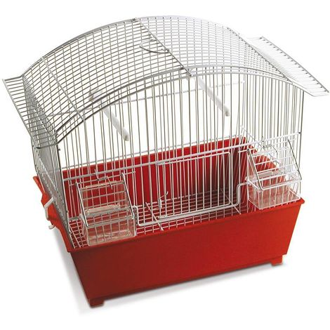 Bird cages assorted models complete with feeders and cutlery