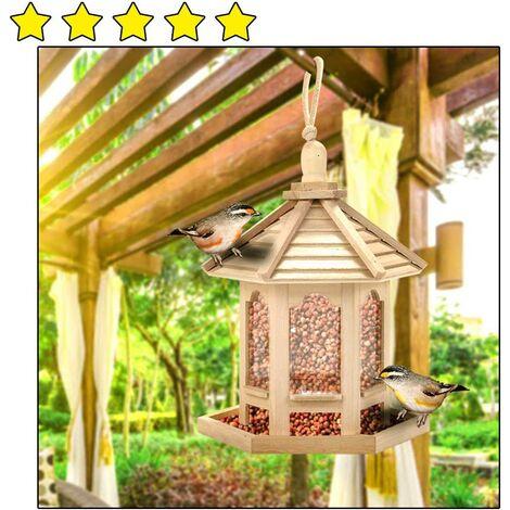 """main image of """"Bird Feeder, Hanging Feeder, Waterproof Bird Feeder, Bird Feeder, Aviary Wild Bird Feeding House, Bird Feeding Station, Bird Feeder, Bird Feeder Garden Accessories"""""""