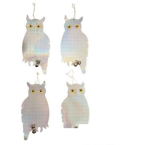 Bird Repellent Owls 4pk - 200 x 410mm