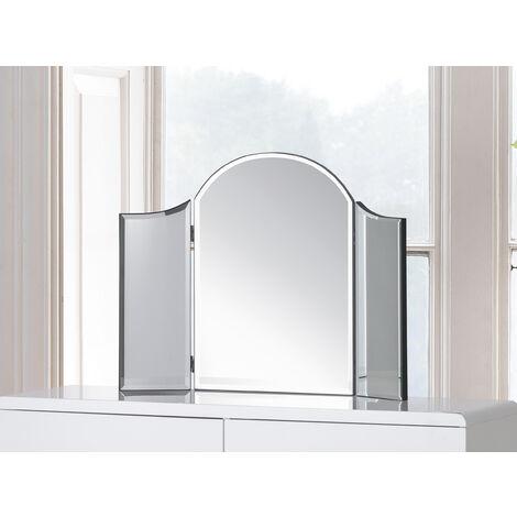 Birdie Elegant Free Standing Curved 3 Panel Dressing Table Mirror