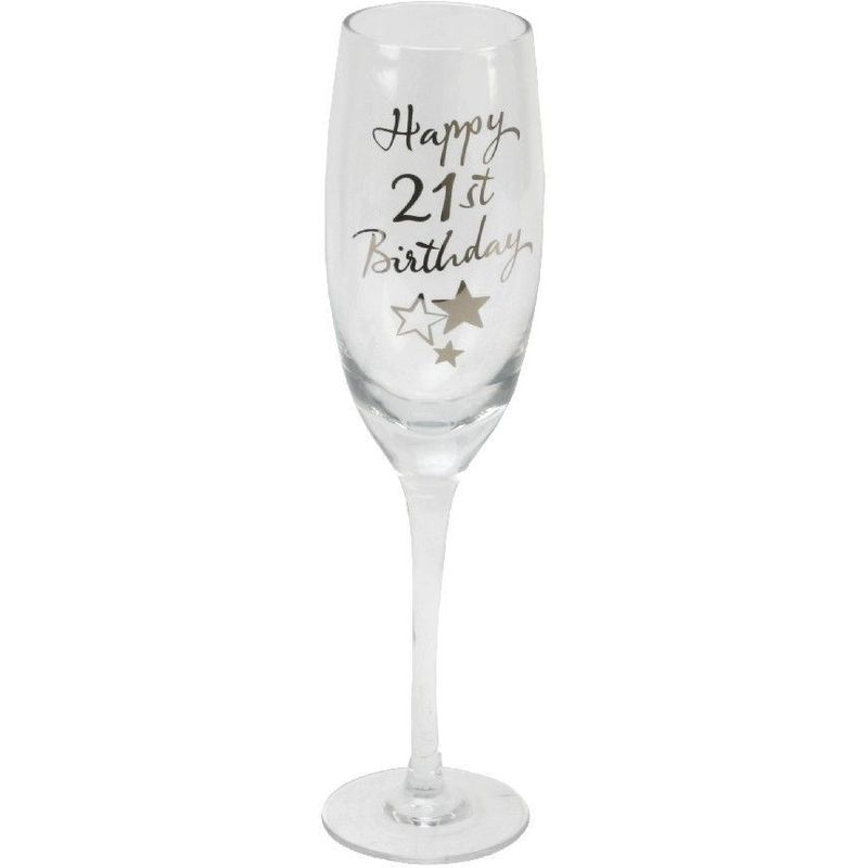 Image of Juliana 21st Birthday Champagne Flute