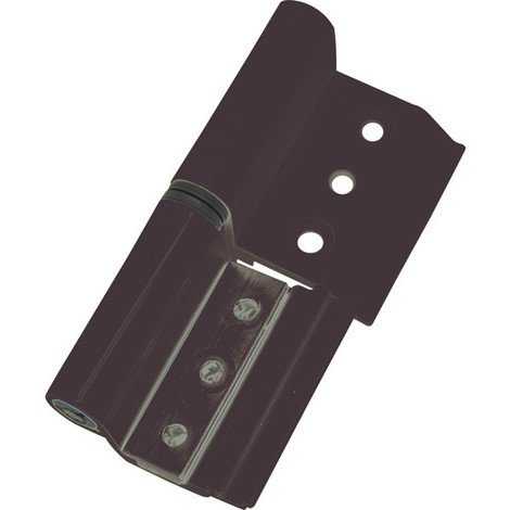 Bisagra Aluminio Negro 6813 40/20 Izquierda - MICEL - 68042