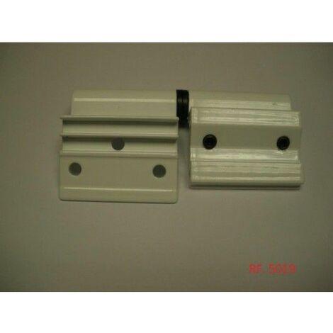 Bisagra Deslizante 100Mm 5019-100 Derecha Blanco Tovic 2 Pz