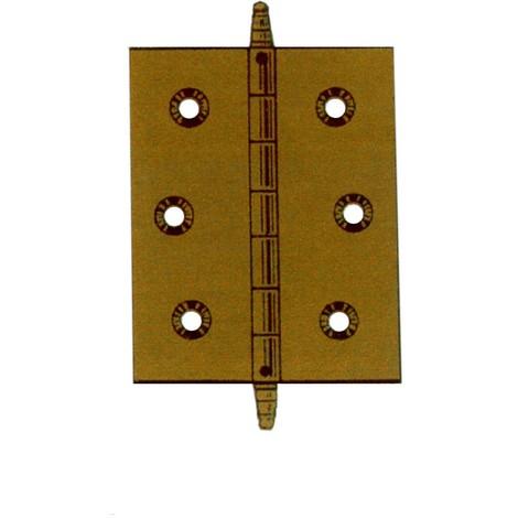 Bisagra Latonada Remate Alto - LIM - 207-100 - 60X40 MM