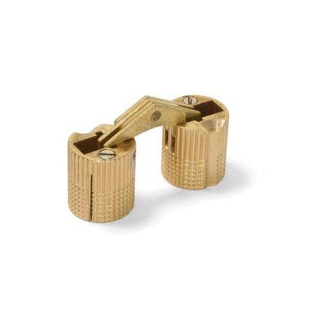 Bisagra oculta latón - varias tallas disponibles