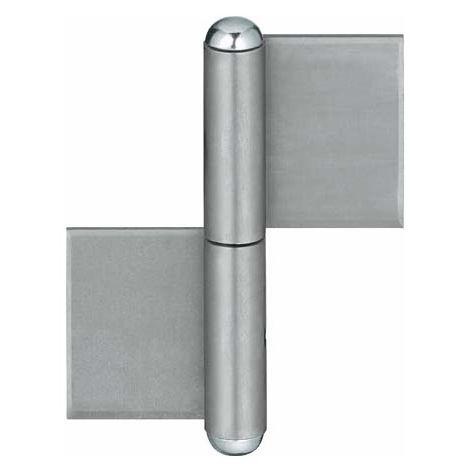 Bisagra puerta KO 4 120/ 3 mm (por 10)