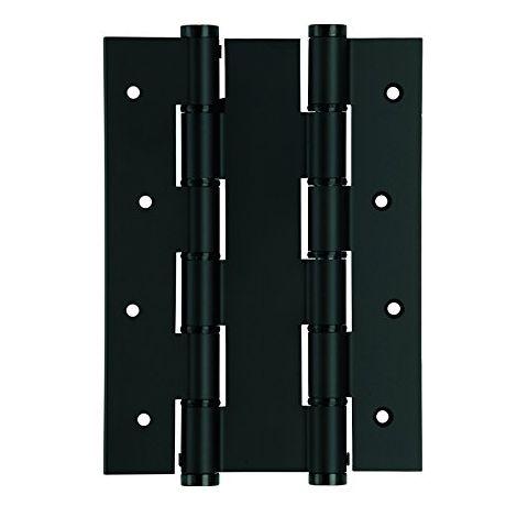 Bisagra Puerta Vaiven Doble Accion 180X40Mm 5914.09 Inox Negro Justor 2 Pz