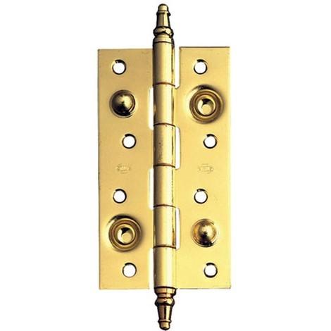 Bisagra Seguridad Latonada - AMIG - 561 - 150X80 MM