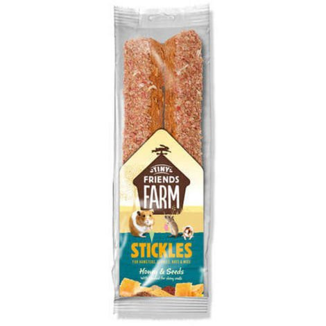 Biscuits aux Graines et Miel pour Hamster - Tiny Friends Farm - 80g