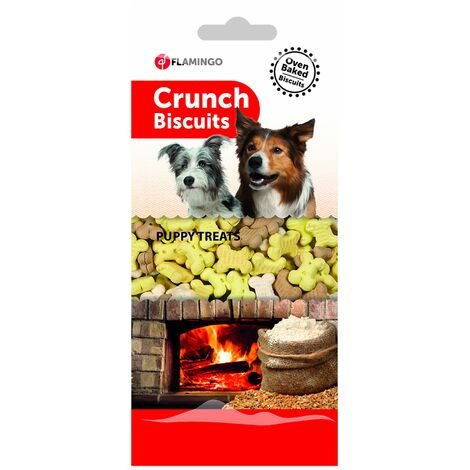 Biscuits crunch friandises chiots 500g