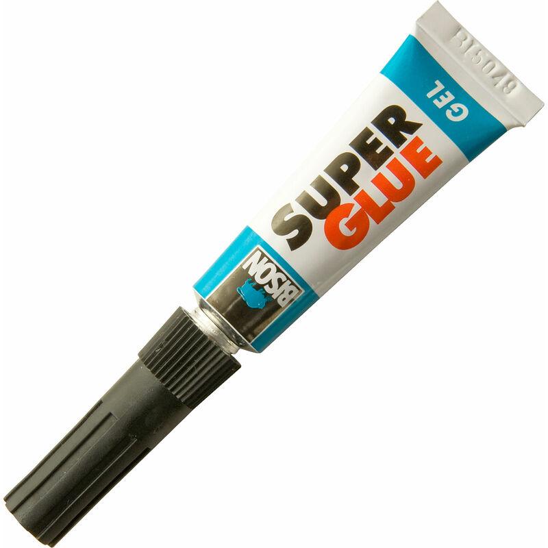 Image of 6312667 Super Glue Gel 3g - Bison