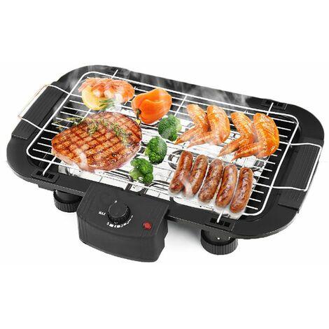 Bistecchiera elettrica da tavolo 2000W mini barbecue grill portatile YQ-2001