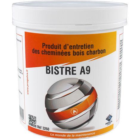Bistre A 9 ramonage chimique pot de 1 kg