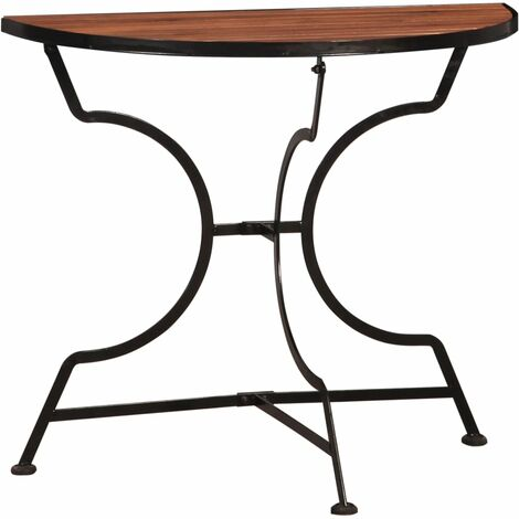 Bistro Balcony Table 85x43x75 cm Solid Acacia Wood