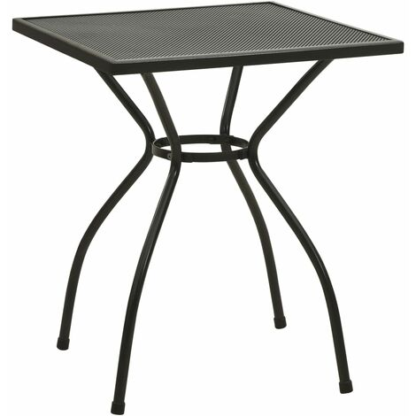 Bistro Table 60x60x70 cm Steel Mesh