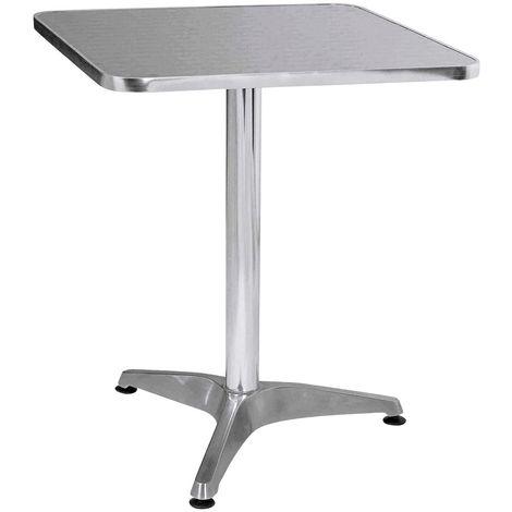 Bistro table, aluminium