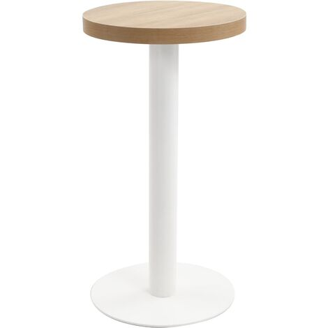 Bistro Table Light Brown 40 cm MDF - Brown