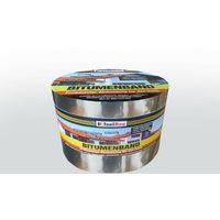 Bitumenband 150 mm x 10 m Aluminium Dachreparatur Aluminiumband Aluband Dach