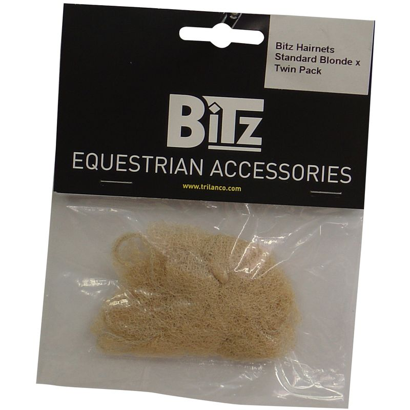 Image of Standard Hairnets (Pack Of 2) (One Size) (Blonde) - Bitz