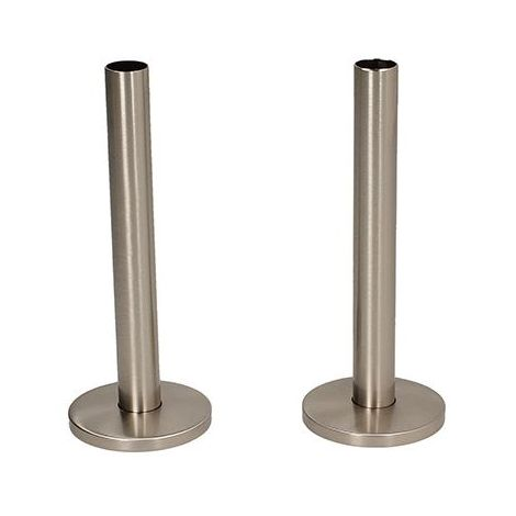 BiWorld Silver Nickel 15mm x 130mm Tails and Decoration Cover EV-TC130SN