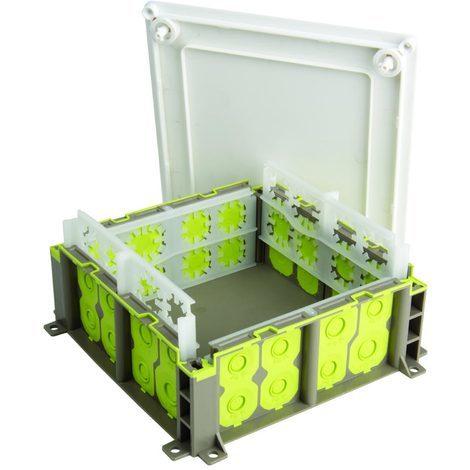 bizline 502515   boîte pavillonnaire r'box 150 x 150 x 80 mm