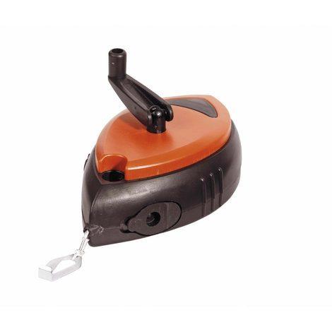 bizline 700037 | kit cordeau à tracer avec poudre de chantier bleu 120 g