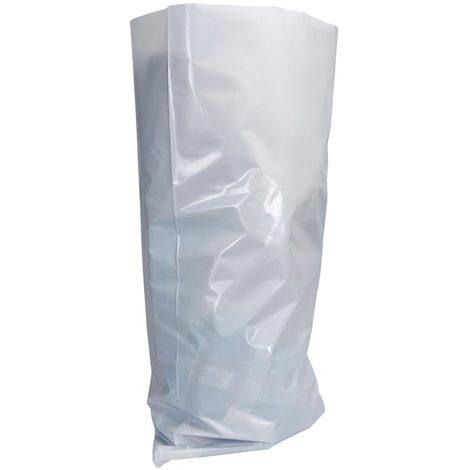 bizline 700214 | sac � gravats opaque blanc en poly�thyl�ne 50 l (x 10)