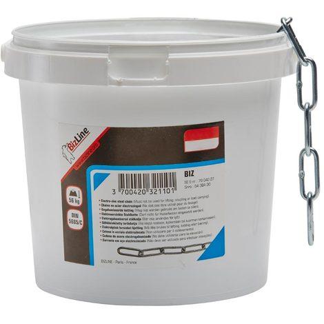bizline 710171 | chaînette acier Ø 2.5 mm x 25 m