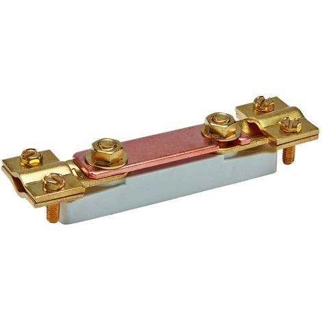 bizline 710272 | barrette de coupure basse avec isolant plastique sans platine 35 mm²