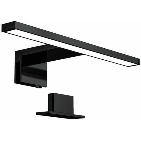 B.K.Licht - Lámpara Espejo de Baño LED IP44, 5W 230V, Pinza + Armario, Blanco Frío 4000k 650lm, 30 x 10.3 x 3.6 cm