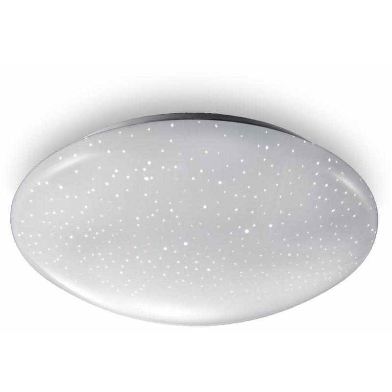 B.K. Licht plafonnier LED salle de bain, lumière blanche