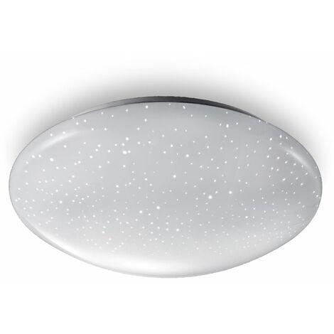 B.K.Licht plafonnier LED étoiles éclairage plafond effet scintillant