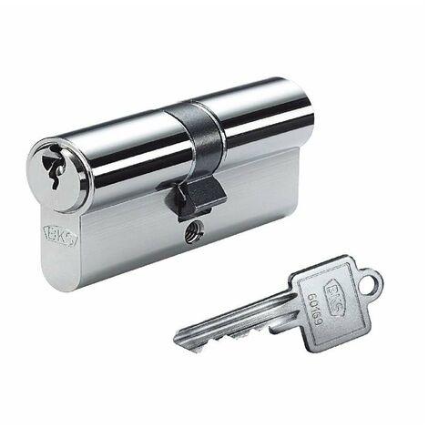 BKS Profil Doppelzylinder PZ 8812 50//65mm NuG Schlüssel 3 verschieden schließend