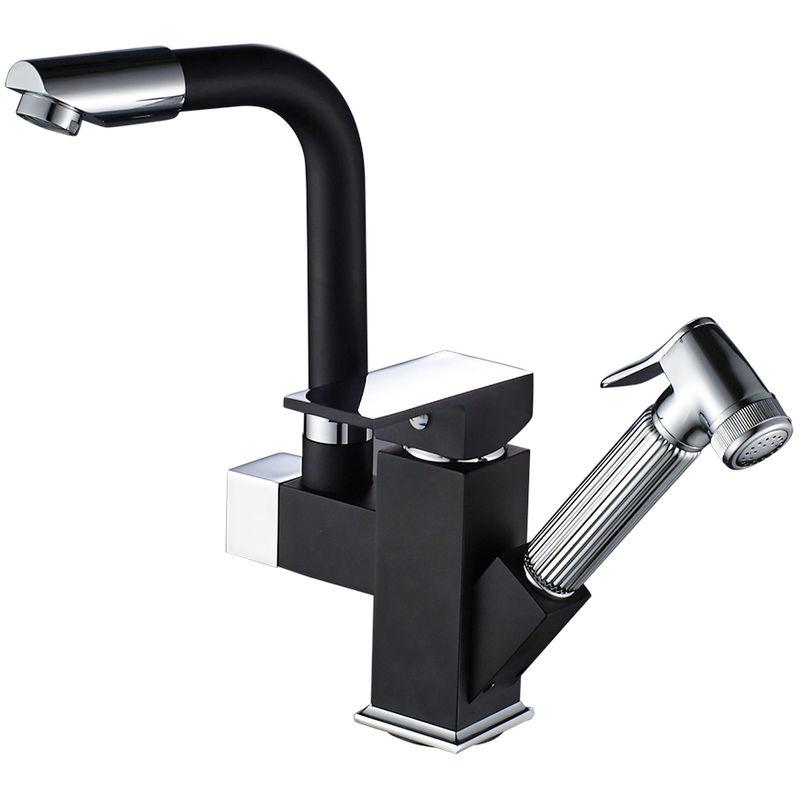 Kitchen Faucet 360° Swivel Spout Sink Spray Head Mixer Tap Replacement Part LED