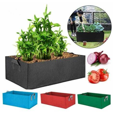 Black 40*30*20CM Vegetables Planter Tray box