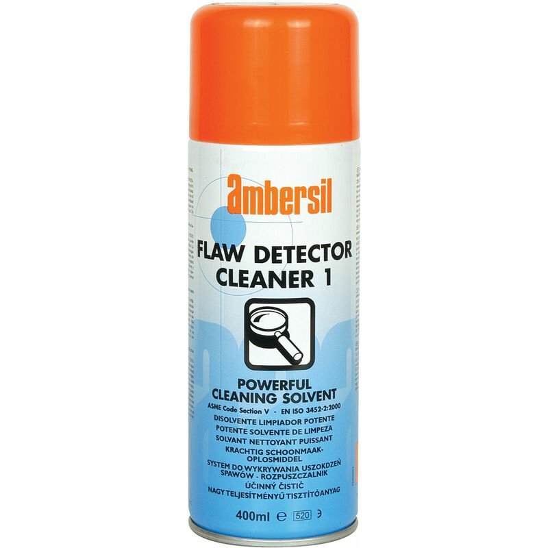 Image of 30288-AA Flaw Detector Cleaner 1 Spray 400ml - Ambersil