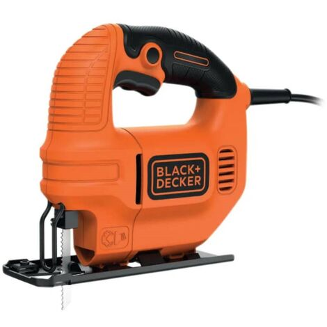 Black and Decker 400w Jigsaw Bevel Cut 240v Ergonomic Low Vibration KS501-GB