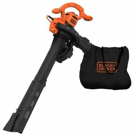 Black And Decker Aspiratore E Soffiatore Elettrico 3 In 1 2600W Beblv260-Qs
