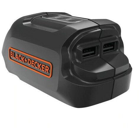 Black and Decker - Chargeur 18V USB - BDCU15AN