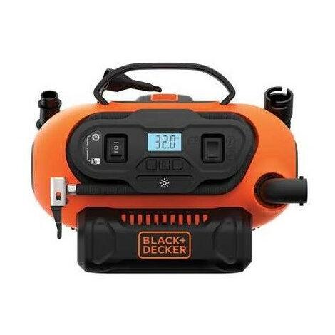 Black and Decker - Compresseur à air / Gonfleur 11 bars 160 PSI - TNT