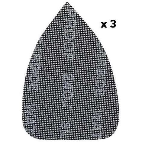 Black and Decker Fogli Abrasivi 3 Pezzi 240gr Mouse