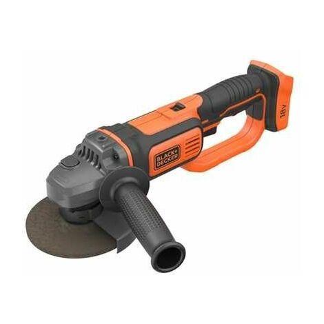 Black and Decker - Meuleuse 18V 125mm sans batterie ni chargeur - TNT