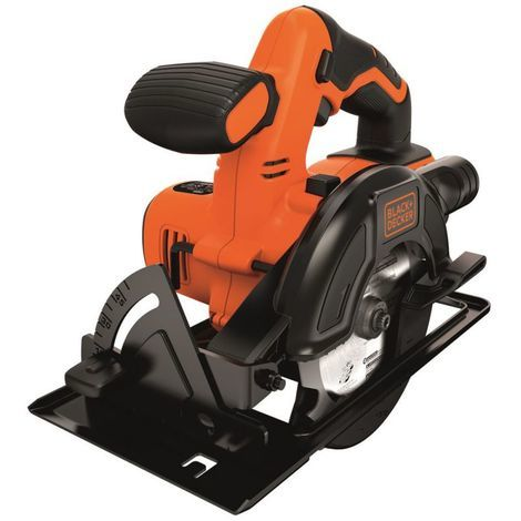 Black and Decker - Scie circulaire à batterie 18V 1,5Ah Li-Ion 140mm - BDCCS18