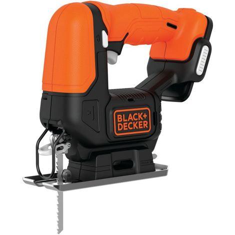 Black and Decker Scie sauteuse sans fil - 12 V - sans batterie ni chargeur