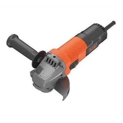 Black and Decker Smerigliatrice Angolare 750W 115mm con Tecnologia No-Volt Release e Soft Start