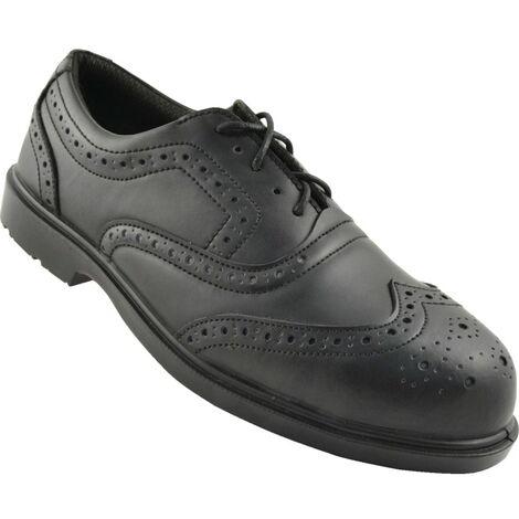 Black Brogue S3 SRC Safety Shoes