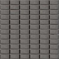 Black Brushed Stainless Steel Metal Mosaic Tiles Bathroom MT0040