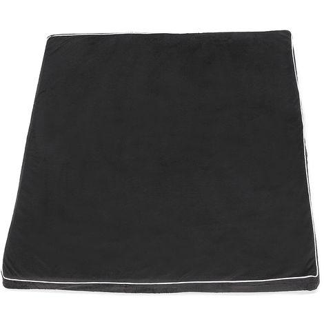 Black Carpet Washable Sponge Mattress Oxford Cloth For Dog Cat