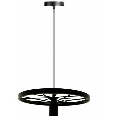 Black Ceiling Light Fitting Wheel Ceiling Light Lamb